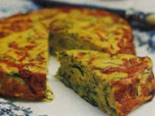 Baked Zucchini Frittata - Baked Zucchini Frittata - Yahoo New Zealand Food