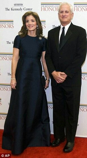 All grown up now, Caroline Kennedy and her husband, Edwin Schlossberg. She was not quite six-years-old when her father was assassinated on November 22, 1963.