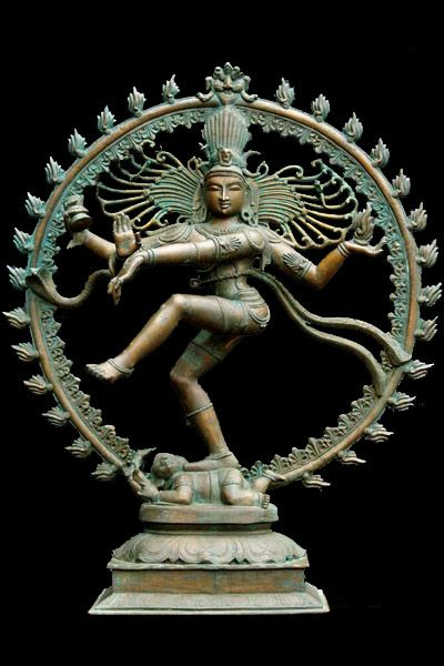 View the Enchanting Bronze Nataraja Statue 45