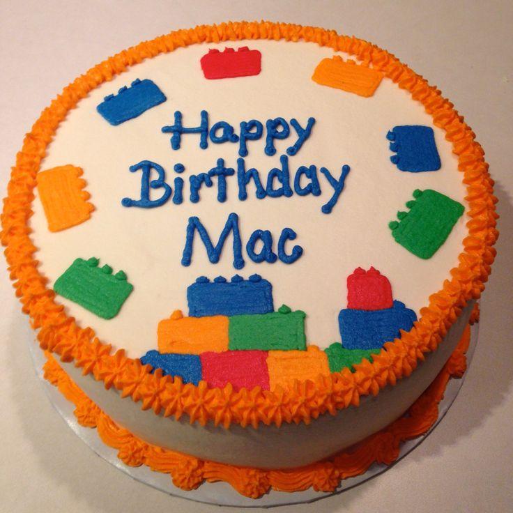 Simple Lego birthday cake Cheeky Cakes Pinterest ...