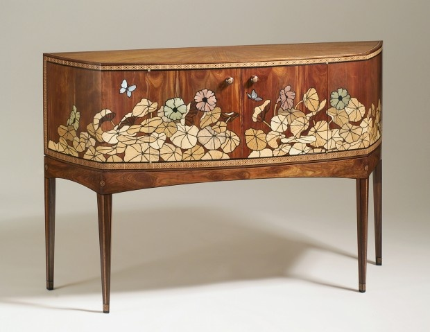 Nasturtiums Cabinet By Silas Kopf $32,000.00 Yikes! Amazing Pictures