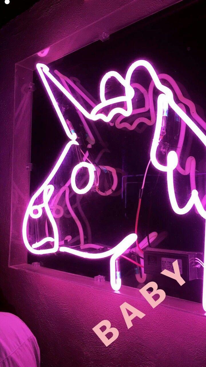 Neon Wallpaper Pink Aesthetic ~ HD Art Wallpaper (With ...