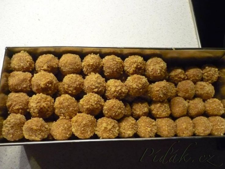 Honeycake balls - very simple but very tasty