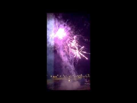 2014 05 05 Fiestas de #Ujo. #Fuegosartificiales