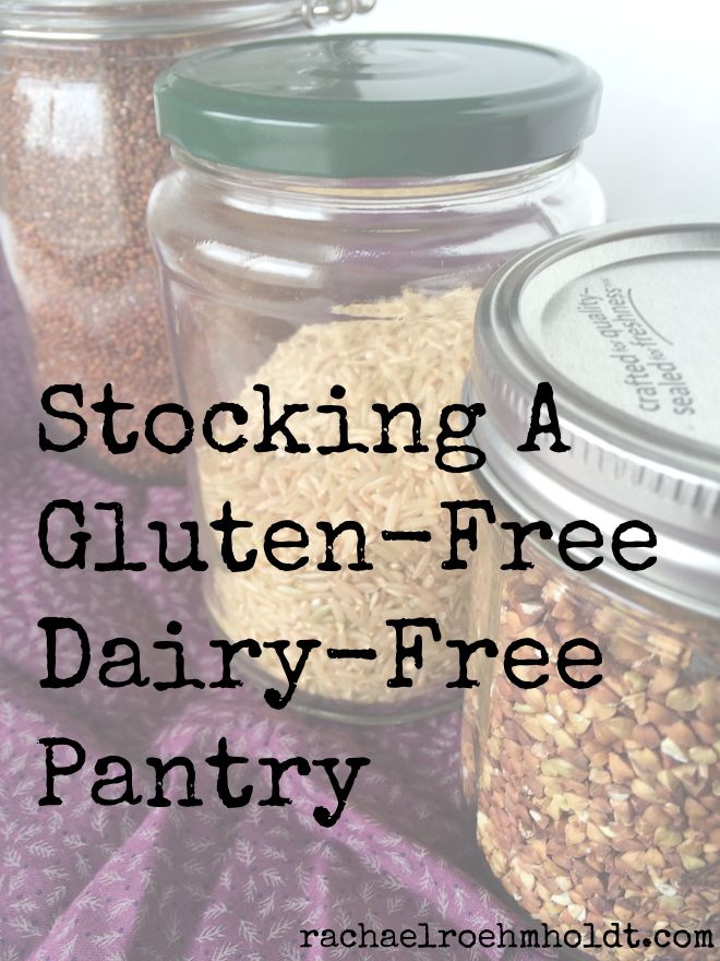 Making the switch to a gluten-free dairy-free life? Find out what to include in your gluten-free dairy-free pantry with this simple checklist.