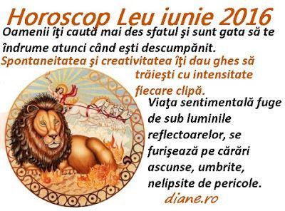 diane.ro: Horoscop Leu iunie 2016