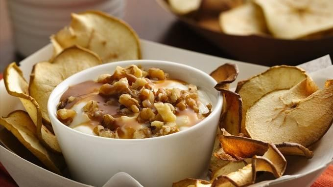 Try this delicious yogurt as a dip for crispy apple chips--the perfect fall snack!
