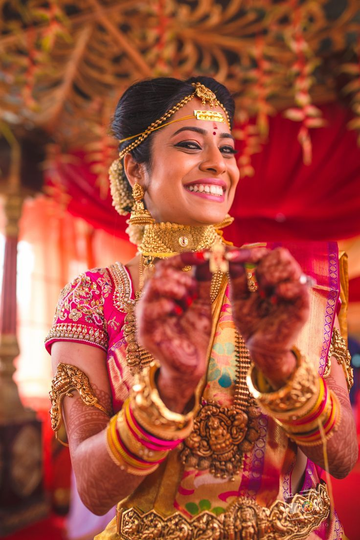 Pin On South Indian Brides