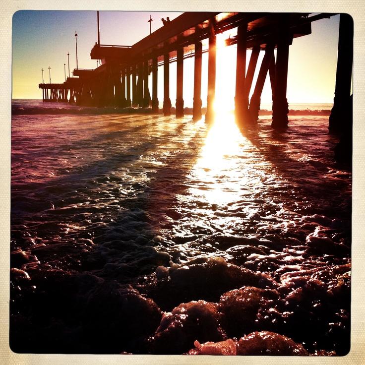 Photograph I took of the Venice Beach Pier during sunset.  --Kacy Summers (kacysummers@gmail.com)