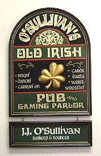 Old Irish Pub and Gaming Parlor
