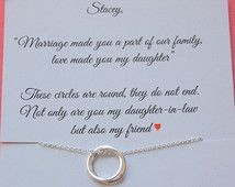 Gift for new daughter in law, From mother in law, daughter in law POEM, wedding…