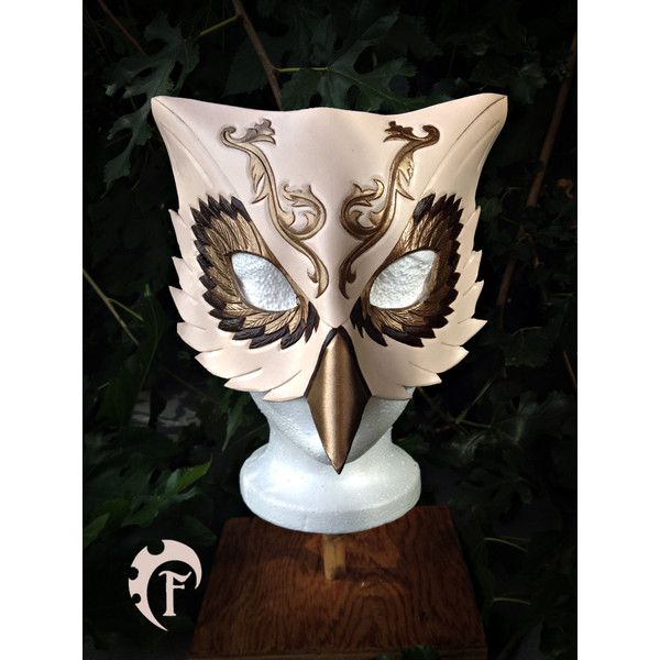venitian owl leather mask masquerade masque cuir fantasy costume - Halloween Costumes With A Masquerade Mask