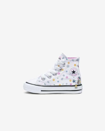 d51b12128a1529 Converse x Hello Kitty Chuck Taylor All Star High Top Baby Shoe ...