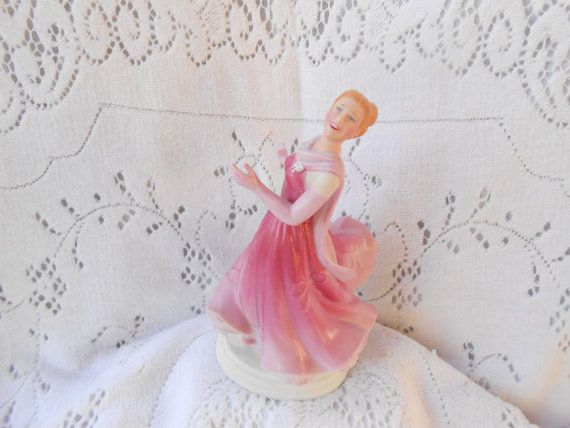 Avon Images of Hollywood / Ginger Rogers Figurine / Dinah Barkley