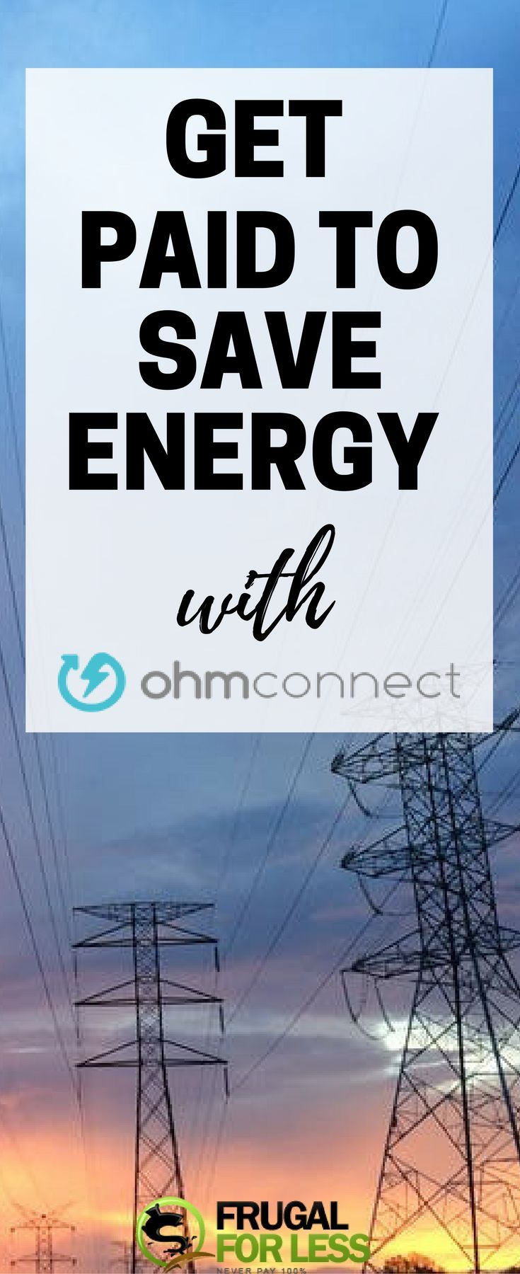 ohmconnect | save money | frugal living | electric bill | electric bill savings tips | electricity bill savings | save money electric bill | save money on electricity - Tap the link to shop on our official online store! You can also join our affiliate and/or rewards programs for FREE!