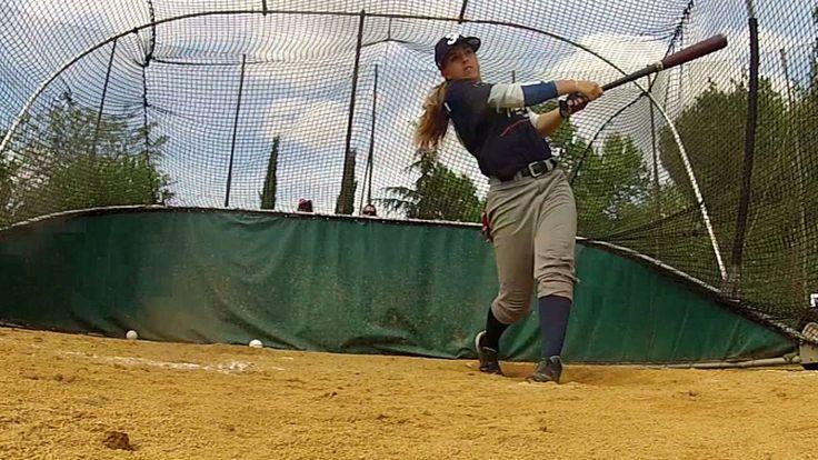Female French teen makes MLB history