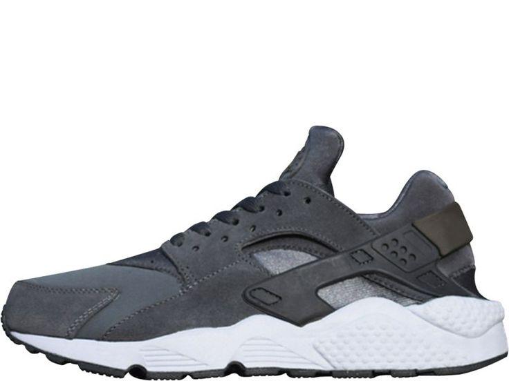 Nike Huarache Zwart Wit Grijs