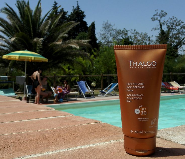 Thalgo Age Defense Sun Lotion #Thalgo #SunLotion #summer #suncare