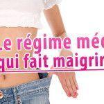 le régime médical qui fait maigrir vite
