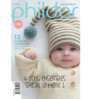 Phildar Baby Knitting Pattern Books : 349 best livre tricots enfants images on Pinterest