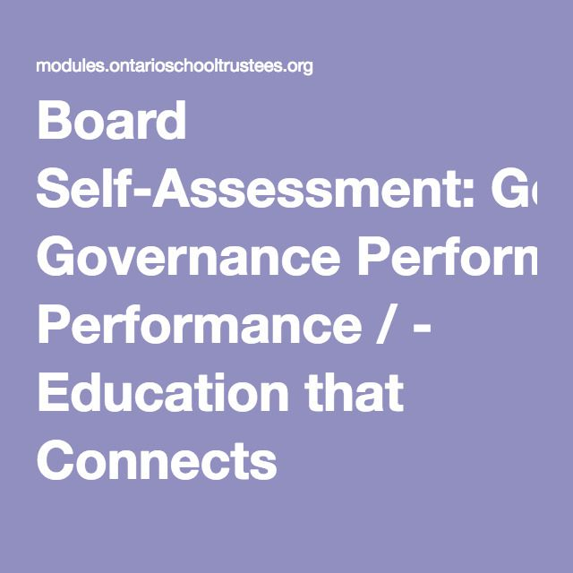 40 best Board Self-Assessment images on Pinterest Assessment - sample self assessment