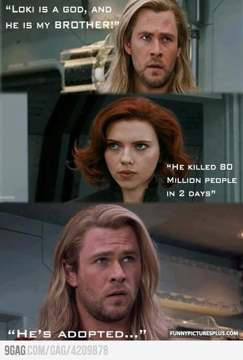 AvengersChris Hemsworth, Loki, Funny, Theavengers, Thor, Favorite Quotes, Movie Quotes, Best Quotes, The Avengers