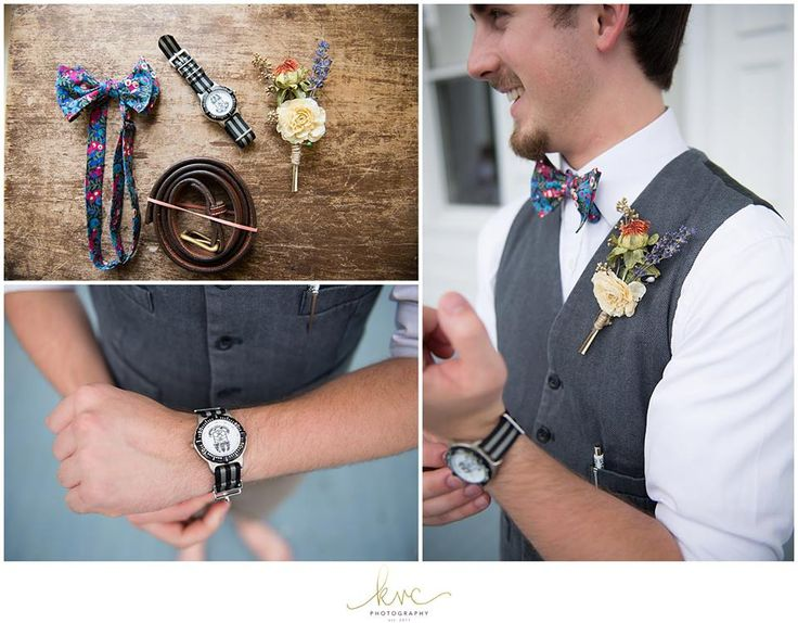 Groom Accessories are ready - Photo by KVC Photography