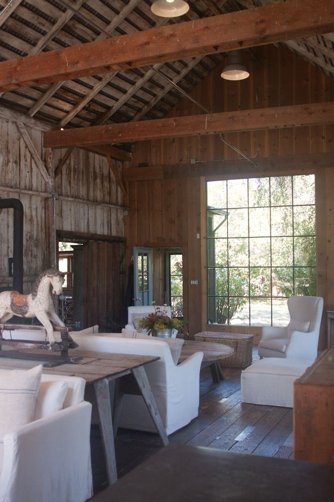 Doesn't get any better than this. Mindy's Barn in West Marin : Remodelista
