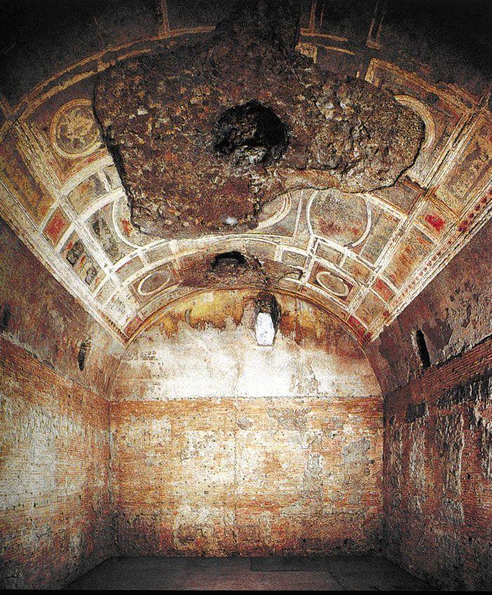 Domus Aurea... 64 AD.  Nero.