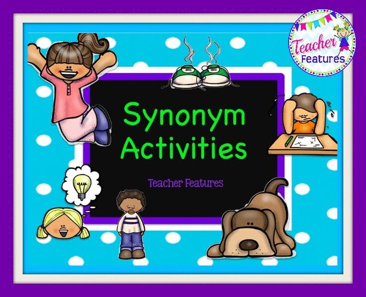 Great! Fantastic! Synonym Activities and Games