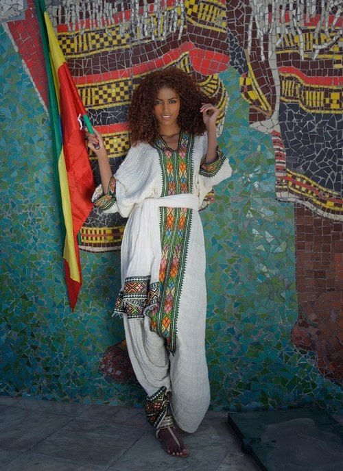 Ethiopian cultural dress #Beauty