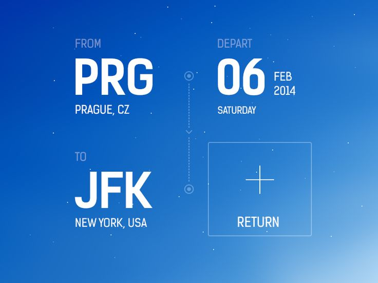 Flight Booking App Concept Published by Maan Ali