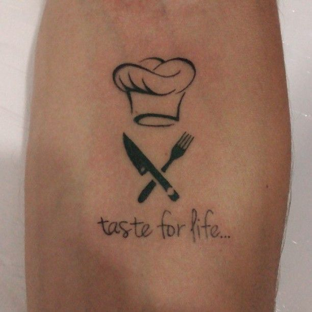 best 25 culinary tattoos ideas on pinterest chef tattoo cooking tattoo and baker tattoo. Black Bedroom Furniture Sets. Home Design Ideas