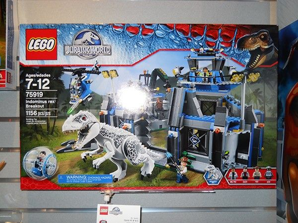 Toys Lego Dinosaur : Toy fair jurassic world lego are everything your