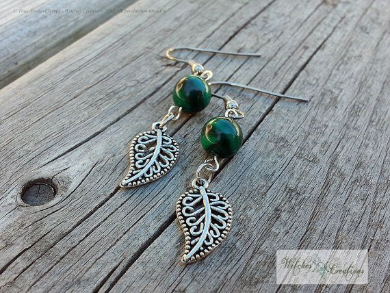 Tree of Life earrings stainless Steel hooks  by WitchesCreations