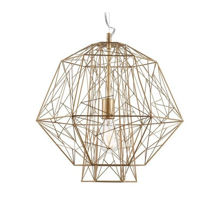 High Quality Nuevo Living Zeus Pendant Lamp In Gold Gallery