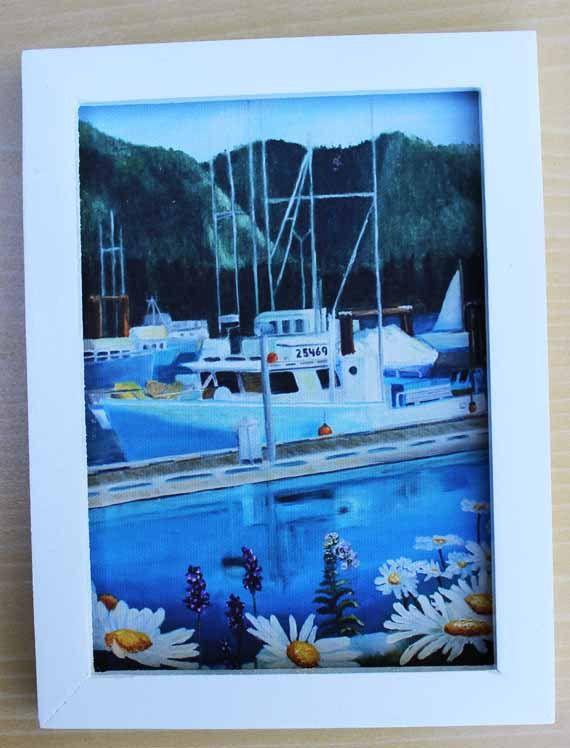 Painting,Oil Painting,Landscape Painting,Gift Ideas,Tofino,British Columbia,Art,Original Art,Boat,Prints,Art Prints,Giclee,Wall Art