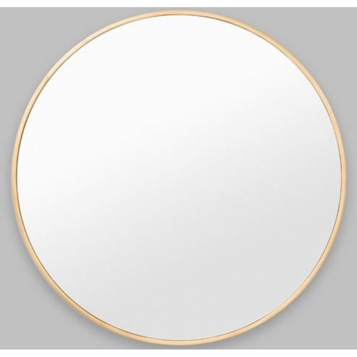BELLA ROUND: SILVERThis versatile wall mirrors subtle frame adds a finished touch without competing with other furnishings.100 x 100 cm