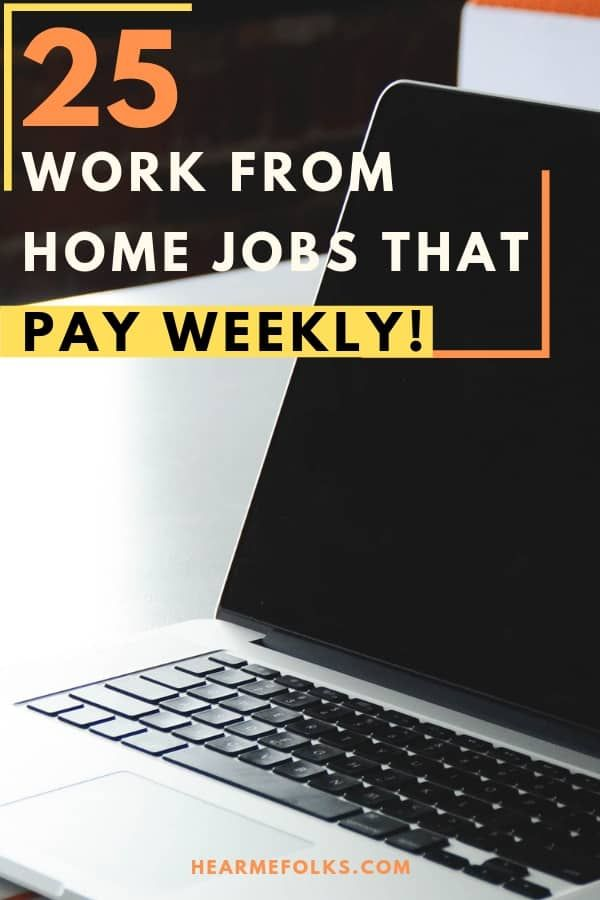 31 Easy to Do Legit Online Jobs That Pay Weekly!