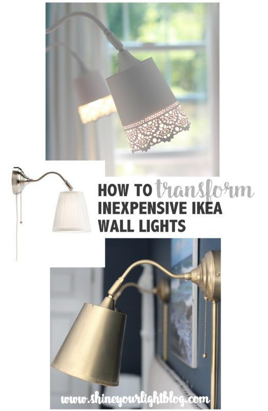 Customize the super-affordable Ikea Arstid lights to compliment your decor. | Shine Your Light | http://www.shineyourlightblog.com