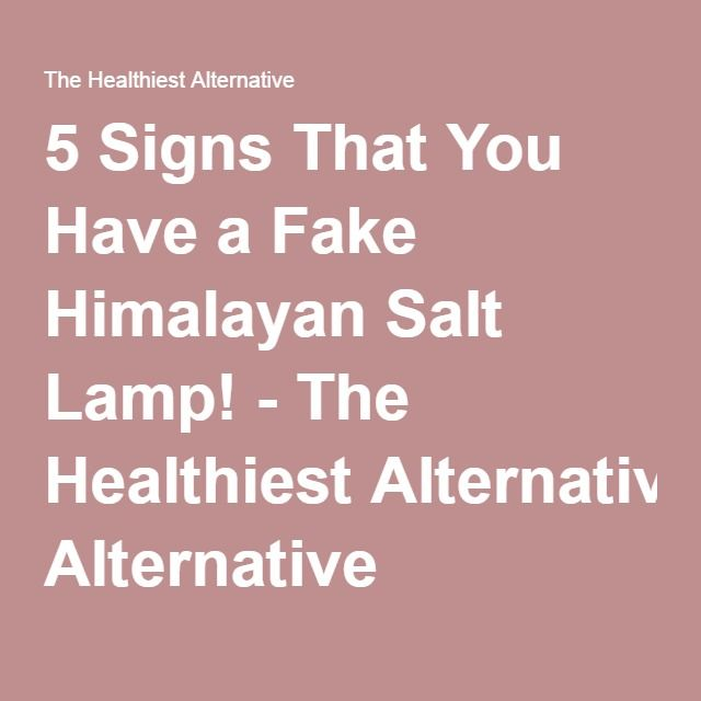 143 best Himalayan Salt and Lamp images on Pinterest | Body detox ...