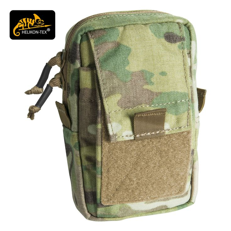 Helikon Navtel is durable and lightweight, MOLLE compatible utility pouch with a padded main compartment and front pocket, both with elastic retainers and loops, and large loop panel for ID patches. Made from Cordura 500D material, Navtel is ideal for smartphones, GPS devices and other small items. Available now at Military 1st online store in a variety of colours and camouflage patterns. Only £17.95! Free UK delivery and returns. Competitive overseas shipping rates.