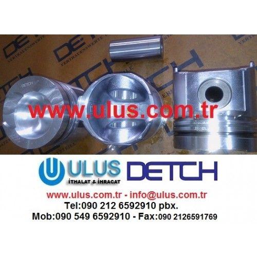 6138-32-2120 Piston Komatsu Orjinal DETCH piston, SA6D110 WA420-1 DETCH komatsu motor parçası