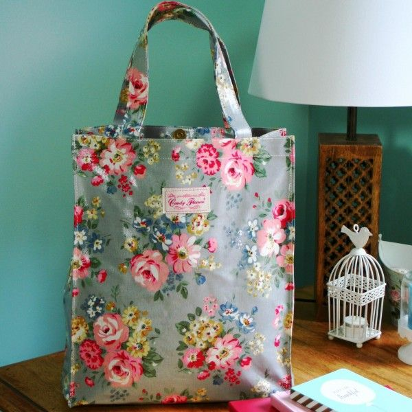 For Her: Pippa bag - Sunny Meadow  #oilcloth #vintage #floral