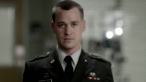 T.R. Knight, aka George OMalley from Greys Anatomy. Such a big part of the show... gone.