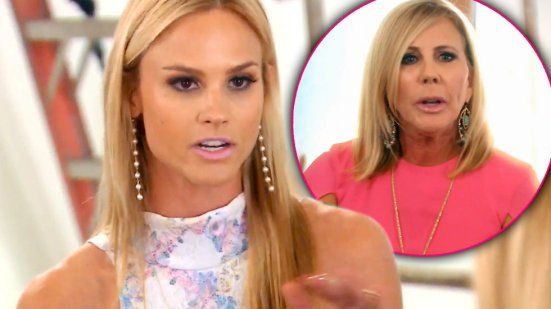 """Vicki Gunvalson Reacts To Meghan King Edmonds Stepdaughter Calling Her """"Dumb"""";Plus Which Real Housewife Gave Vicki Support?"""