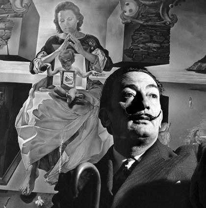 fotos dali | Biografia de Salvador Dalí