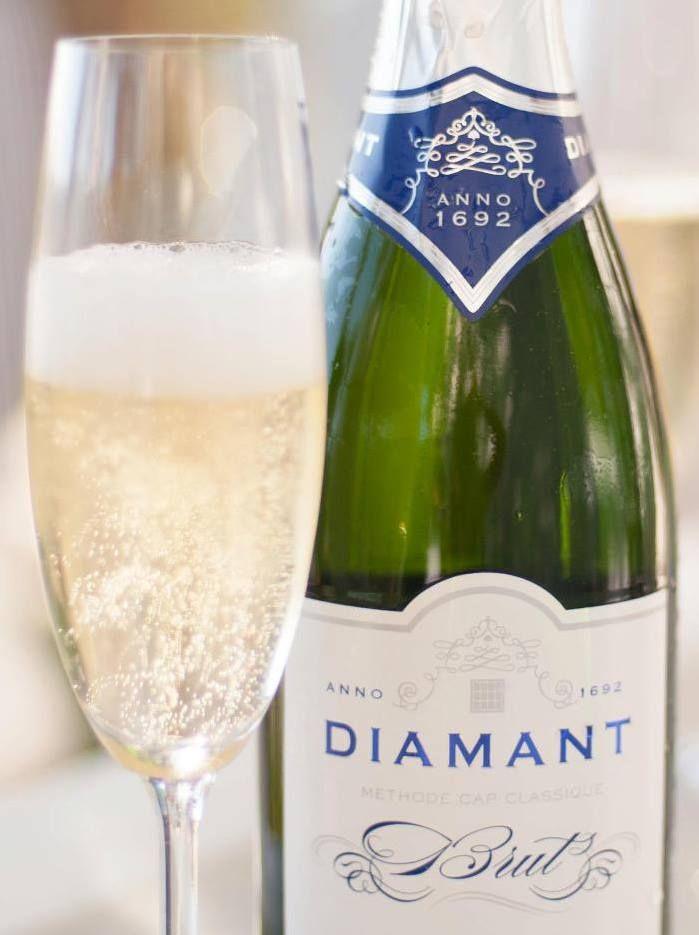 Some bubbly perhaps? Diamant Estate, Paarl