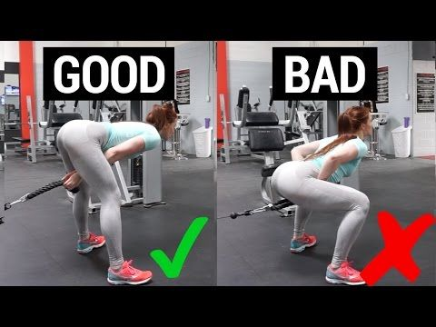 How to PROPERLY Perform Glute Pull Throughs | Fix Your ...