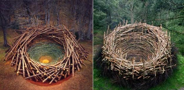 Art & Botany: Nils-Udo's Land Art | Garden Design